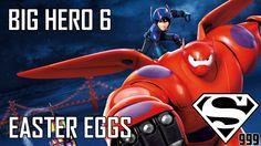 Big Hero 6: Hidden Easter Eggs & Secrets Turbo 2013, Disney Movies, Disney Characters, Egg And I, Disney Facts, Big Hero 6, Easter Eggs, The Secret, Pop Culture