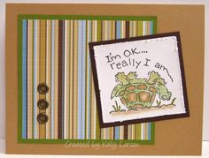 Cute Turtle by stamping_KML - Cards and Paper Crafts at Splitcoaststampers