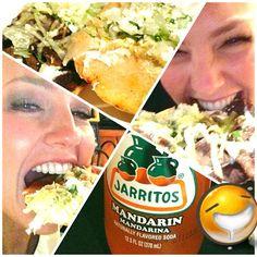 AmorAlaMexicana! Huarache de cesina y gorditas de carne enchilada con su jarrito de mandarina! Ajuuuua! Mexican food time! - @todothalia- #webstagram