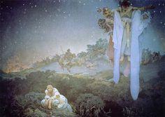 アルフォンス・ミュシャ-スラヴ叙事詩-原故郷のスラヴ民族-
