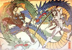 New Artwork! Hanzo and Genji.