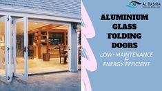 Add a contemporary-style extension to your home with aluminium glass folding doors. Contact Al Basira to explore your options. Folding Doors, Contemporary Style, The Incredibles, Explore, Glass, Outdoor Decor, Design, Home Decor, Accordion Doors