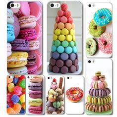 Free Shipping 2015 Macaron Clear Printed Phone Protector Case Skin Cover Back For iPhone 5C