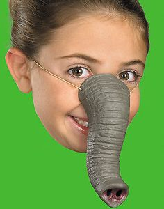 #Elephant trunk nose animal mask tusk child/adult #halloween #costume accessory o,  View more on the LINK: http://www.zeppy.io/product/gb/2/371433989193/