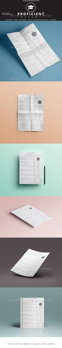 Agastya Resume Set Template, Simple resume template and Fonts - complete resume