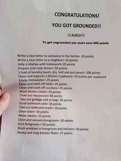 Love this! I'd be a perfect discipline thing for like ages 7-16 or so :)