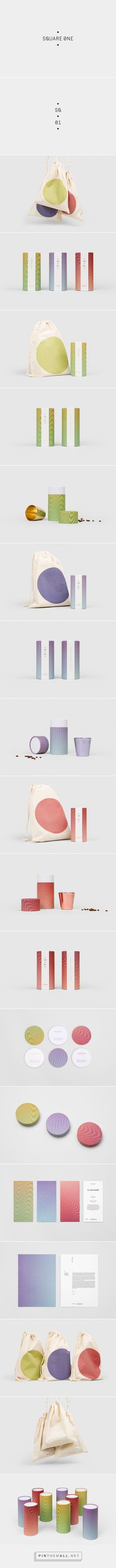 Square One Coffee Roasters on Behance - created via https://pinthemall.net