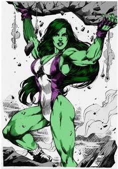 She Hulk Marcio Abreu By by Kenkira on DeviantArt Marvel Girls, Comics Girls, Marvel Art, Marvel Heroes, Marvel Avengers, Comic Book Characters, Comic Character, Comic Books Art, Comic Art