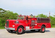 Dalton MA Engine 2 - 1963 Maxim Pumper - 4x6 Fire Apparatus Photo
