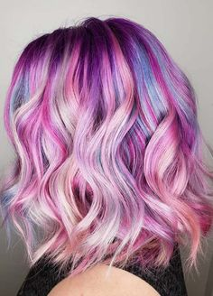 A list of amazing cotton candy hair color ideas to create in 2018. See here the modern trends of cotton candy hair color styles for you and decide which one is best style for you to make you look more gorgeous than ever. Try this summer the beautiful pink cotton candy color for you to get obsessing hair looks in 2018.