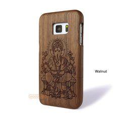 Ganesh Vinayaka Galaxy S7 Case - Galaxy S7 Solid Total Wood Case - SDTRE0132