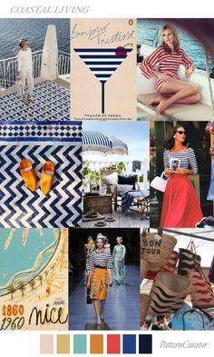 TRENDS // PATTERN CURATOR - COLOR + PRINT | COASTAL LIVING . S/S 2018 | FASHION VIGNETTE | Bloglovin'