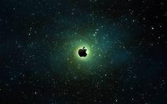 Apple Galaxy Background