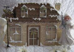 Vintage Christmas House Mini Album