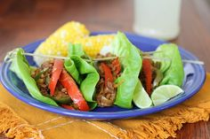 Turkey Fajita Lettuce Wraps | Go-to ground turkey recipe that works for all phases of the FMD, plus D-Burn! Saute in water or broth for Phase 1 and Phase 2, and serve over quinoa instead of lettuce for D-Burn.