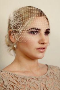 DIY Birdcage Veil : Guest Cynthia Alsop from Fredericksburg, VA Bird Cage, Veil, Brides, Band, Sash, Veils, Wedding Bride, Bridal, Birdcages