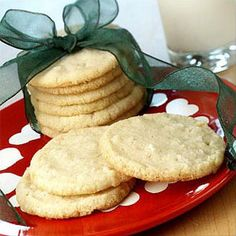 Swedish Coconut Cookies - These are a perennial favorite here in the Smith house and among our friends and co-workers. If you like coconut you will love these. Works well with Gluten Free Flour for GF cookies. Spritz Cookies, Galletas Cookies, Icebox Cookies, Baking Cookies, Biscuit Cookies, Köstliche Desserts, Delicious Desserts, Dessert Recipes, Land O Lakes Recipes
