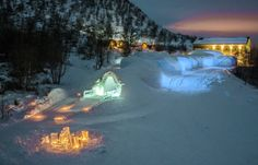 Kirkenes Snowhotel - Norway Situated in the... | Luxury Accommodations