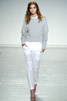 #NYFW - Runway: Rebecca Taylor Spring 2014 Ready-to-Wear Collection #rebeccataylor