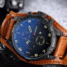 Buy now Curren Men Watches Man Clock 2017 Top Brand Luxury Army Military Steampunk Sports Male Quartz-Watch Men Hodinky Relojes Hombre just only $13.99 with free shipping worldwide  #menwatches Plese click on picture to see our special price for you