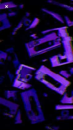 Vaporwave Wallpaper Phone Ideas - Best of Wallpapers for Andriod and ios Dark Purple Aesthetic, Violet Aesthetic, Aesthetic Colors, Aesthetic Collage, Aesthetic Vintage, Music Aesthetic, Purple Aesthetic Background, Aesthetic Painting, Aesthetic Anime