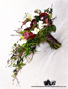 Woodland trailing bouquet