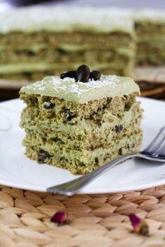 맛챠 에스프레소 케이크