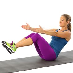 Ditch the Spanx and Do V-Sits!