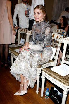 Olivia Palermo Photos - Day 2: Front Row - London Fashion Week SS15 - Zimbio
