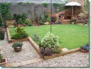 l shaped garden ideas - Google Search