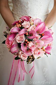 Bouquet rose de mariage