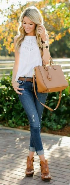 Wow ! Just take a look at this classy, yet casual outfit ! Click on the link to where to buy it!