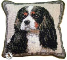 Home design with dogs in mind. That is our motto. Discover our huge collection of dog lover gifts. Features a Tri Color Cavalier King Charles Spaniel dog.