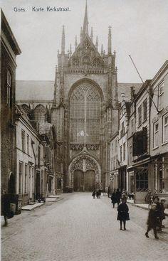 Korte Kerkstraat rond 1910