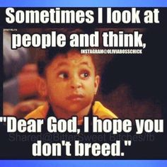 Yes you! Don't even think about breeding!