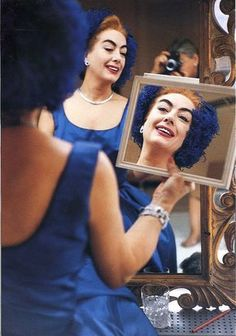 Eve ARNOLD :: Joan Crawford, 1959  #mirror