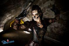 #halloween #makeup #behorror #kostüme #steampunk
