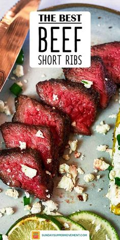 This Grilled Beef Short Ribs recipe is a guaranteed show-stopper! Deeply flavorful and tender, these grilled short ribs are perfect for a backyard BBQ or fun family dinner. Everyone will be coming back for seconds! Best Beef Recipes, Rib Recipes, Grilling Recipes, Seafood Recipes, Paleo Recipes, Armenian Recipes, Armenian Food, Best Short Rib Recipe, Grilled Beef Short Ribs