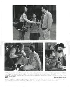 1996 Press Photo Film Jack Fran Drescher Adam Zolotin Robin Williams Bill Cosby - Historic Images
