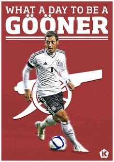 Welcome to Arsenal, Özil
