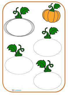 Halloween, Preschool, Pumpkin, Education, Drawings, Christmas, Montessori, Templates, Fall