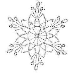 Die 169 Besten Bilder Von Schneeflocken Häkeln Crochet Snowflake