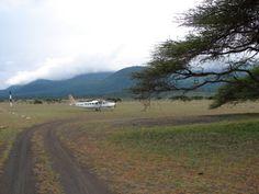 the airport at Ol Donyo Wuas