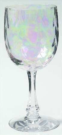Fostoria crystal Firelight, love the purple hints.