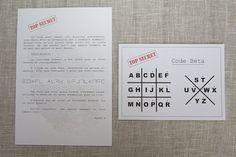 Voilà la deuxième partie de la fête. Les missions : Le scénario est simple. On a remis aux enfants une première enveloppe qui contenai...