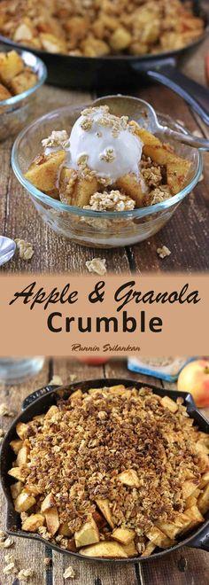 Apple Granola Crumble