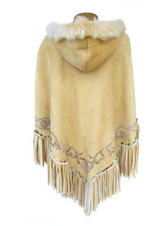 Custom made Leather Ponchos from Gossamer Wings