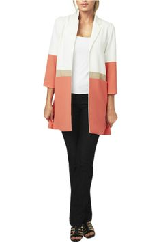 TRI COLOURE Color Blocked Jacket  Color Blocked Jacket by Luii. Clothing - Jackets Coats & Blazers Rhode Island