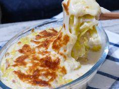 白菜の豆腐ホワイトソースグラタン
