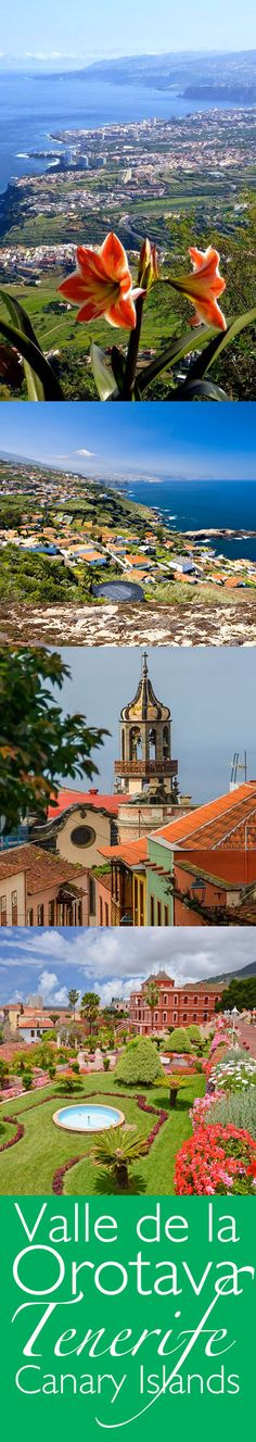 La Orotava, Tenerife, Canary Islands, Spain